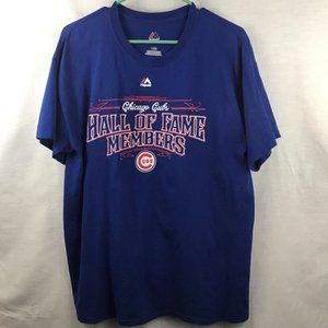 Majestic Cubs Hall of Fame Shirt